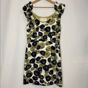 Anthropologie Leifsdottir  Silk Sheath Dress